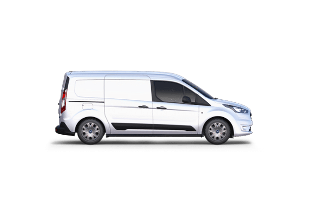 2019 Ford Transit Connect XLT Cargo Van Frozen White, 2.0L